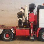 Tractora grúa MERCEDES BENZ 2348