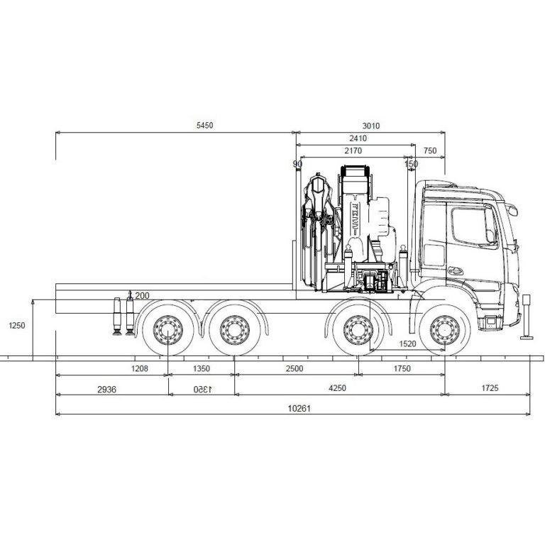 Esquema-Tractora-Grua-MERCEDES-BENZ-4151-CON-QUINTA-RUEDA