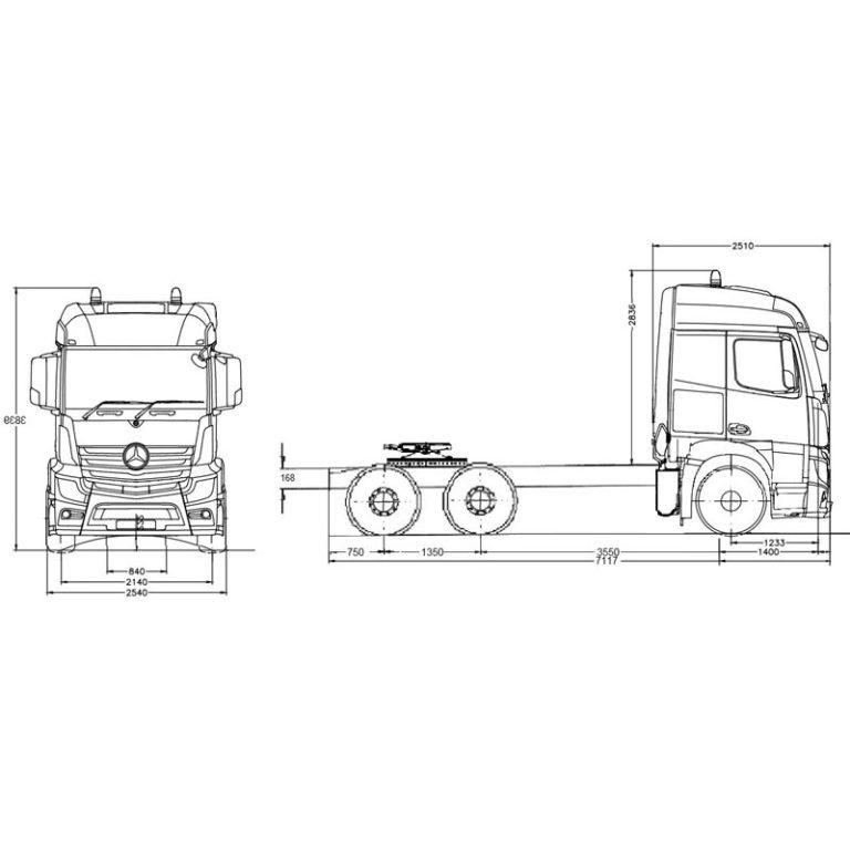 Esquema-Tractora-MERCEDES-BENZ-3363