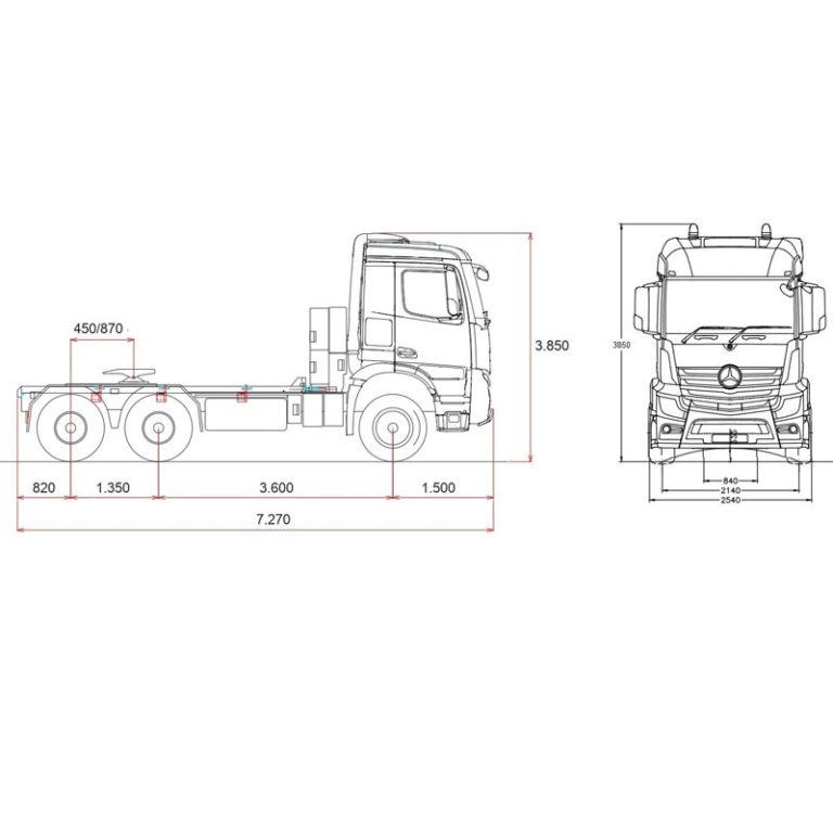 Esquema-Tractora-MERCEDES-BENZ-4063