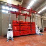 Pórtico ENERPAC 250 Tn para movimiento de maquinaria