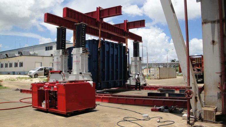 Portico-lift-systems-450-tn-movimiento-maquinaria