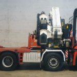 Tractora grúa MERCEDES BENZ 4151