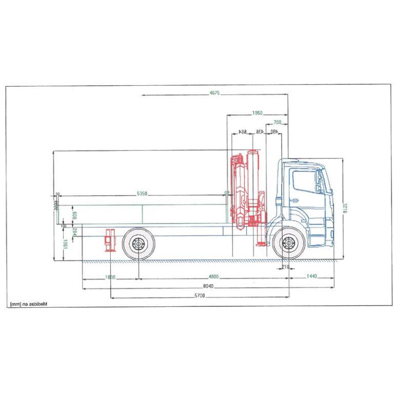 Camion grua Barcelona MERCEDES-BENZ-1826