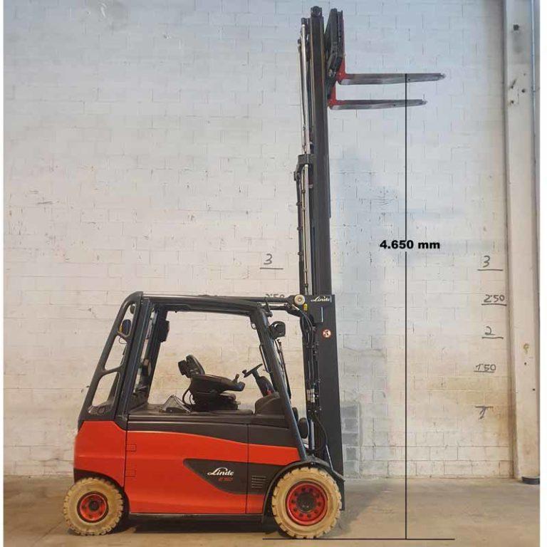 Carretilla Elevadora E50 transporte especial altura