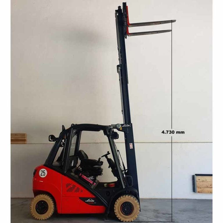 Carretilla Elevadora H25 Evo transporte especial altura