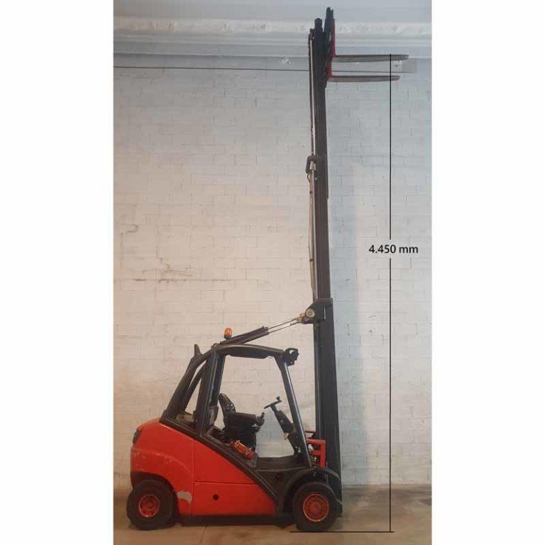 Carretilla Elevadora H35 D transporte especial altura