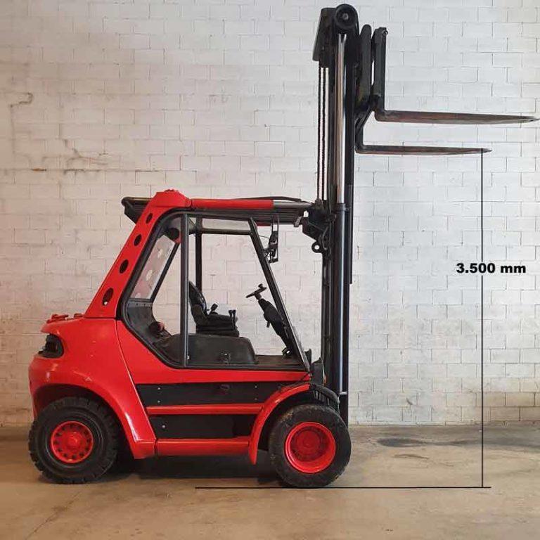 Carretilla Elevadora H70 D transporte especial altura