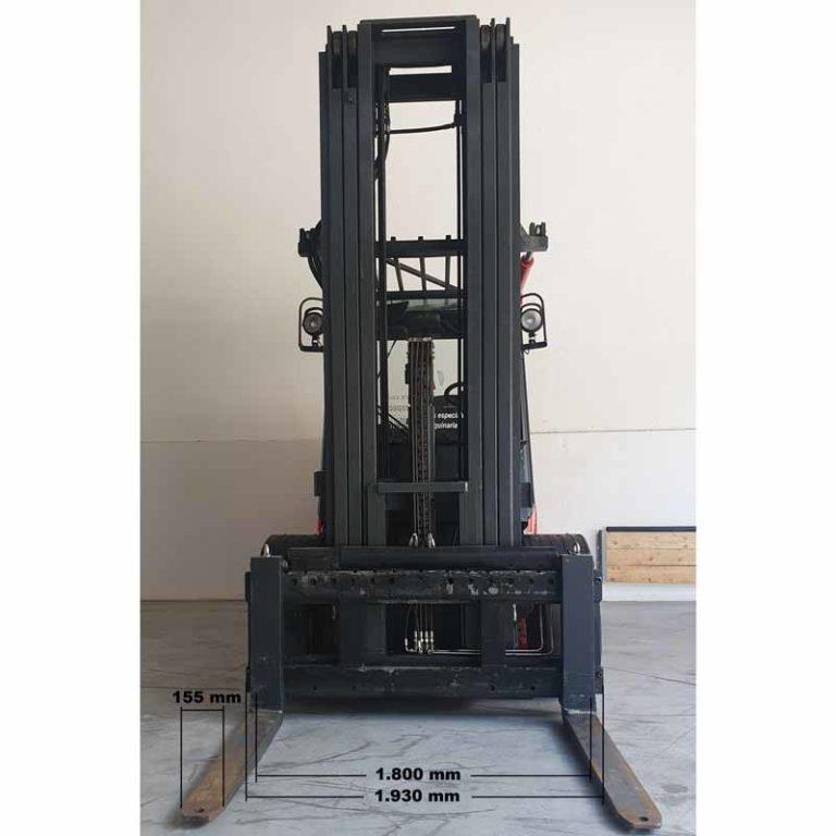 Carretilla Elevadora H80 D Pro Mástil transporte especial