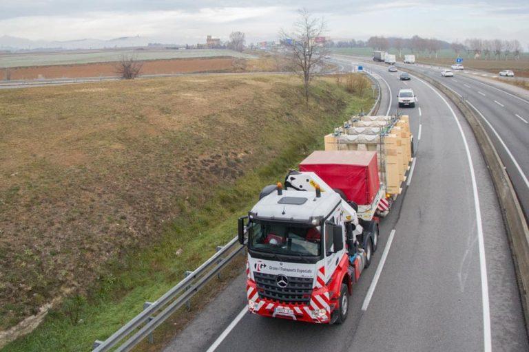 transporte especial transgranollers