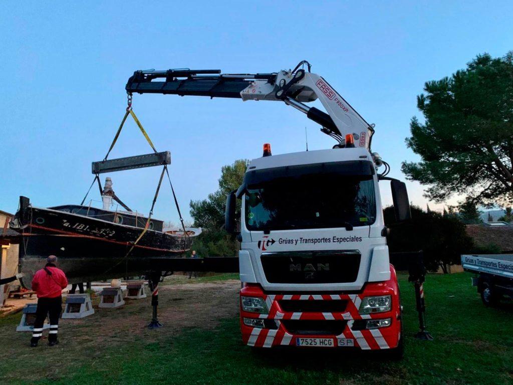 transporte embarcacion recreo