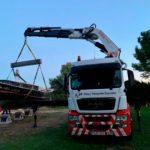 Transporte por carretera de una embarcación de recreo
